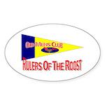 Old Mens Club Oval Sticker