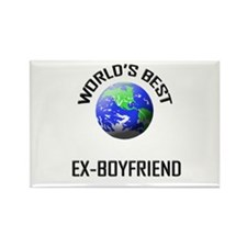 World's Best EX-BOYFRIEND Rectangle Magnet (10 pac
