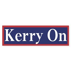 Kerry On (bumper sticker)