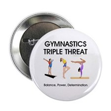 "TOP Gymnastics Slogan 2.25"" Button (100 pack)"