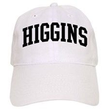 HIGGINS (curve-black) Baseball Cap