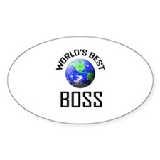 World's Best BOSS Oval Decal
