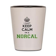 Unique Norcal Shot Glass
