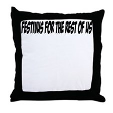 Festivus - (1) Throw Pillow
