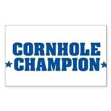 Cornhole * Champion * Rectangle Decal