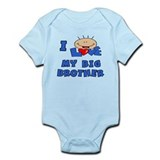 I love BIG Brother Blue Baby/toddler bodysuits