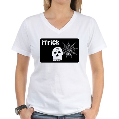 iTrick Women's V-Neck T-Shirt