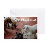 &quot;Playtime!&quot; Greeting Cards (Pk of 10)