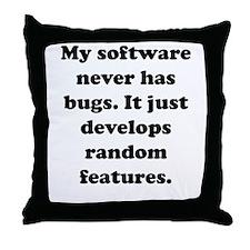 My Software Throw Pillow