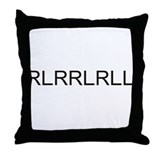 Unique Rlrrlrll Throw Pillow
