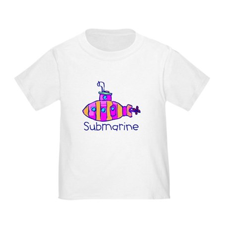 Kid Art Submarine Toddler T-Shirt
