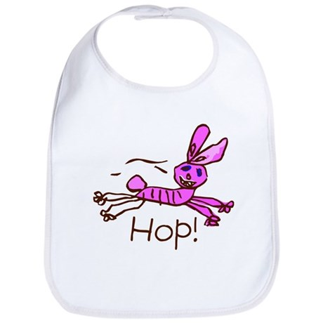 Kid Art Bunny Bib