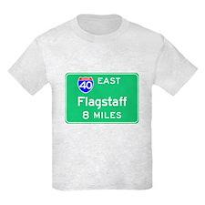 Flagstaff AZ, Interstate 40 East T-Shirt