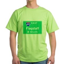 Flagstaff AZ, Interstate 40 East T-Shirt