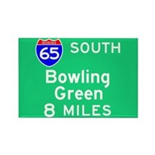 Bowling Green KY, Interstate 65 South Rectangle Ma