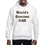 World's Greatest Dad Camo Hooded Sweatshirt