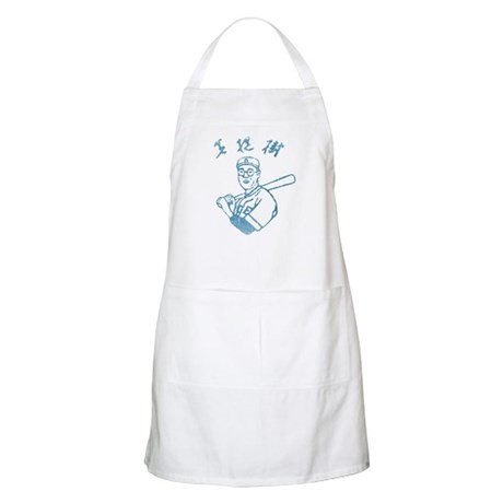 The Dude's Baseball Jersey BBQ Apron