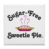Sugar-Free Sweetie Pie Tile Coaster