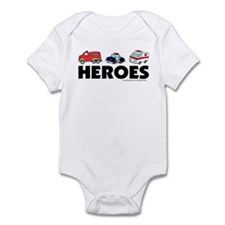 HEROES (EMT, fire, police) Infant Bodysuit