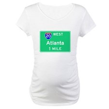 Atlanta GA, Interstate 20 West Shirt