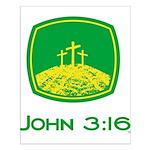 John 3:16 Small Poster