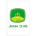 John 3:16 Large Poster