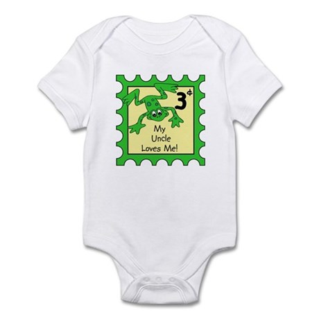 My Uncle Loves Me! FROG Baby/Toddler bodysuits/cre