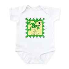 My Nonno Loves Me! FROG Baby/Toddler bodysuits
