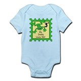 My Daddy Loves Me! FROG Baby/Toddler bodysuit