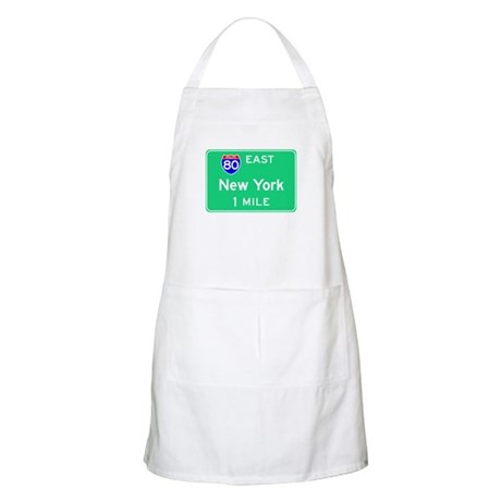 New York NY, Interstate 80 East BBQ Apron