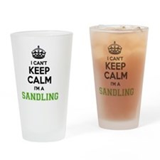 Funny Sandles Drinking Glass