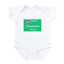 Cheyenne WY, Interstate 80 East Onesie