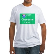 Cheyenne WY, Interstate 80 East Shirt