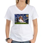 Starry Night Blenheim Women's V-Neck T-Shirt