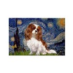 Starry Night Blenheim Rectangle Magnet
