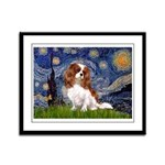 Starry Night Blenheim Framed Panel Print