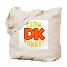 Team Donkey Kong Tote Bag