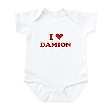 I LOVE DAMION Onesie