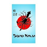 Squid Ninja Decal