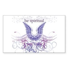 Purple Chakra Rectangle Decal