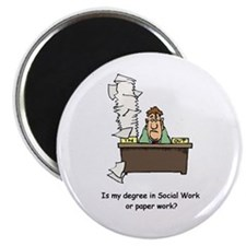 "My Degree (Design 1) 2.25"" Magnet (10 pack)"