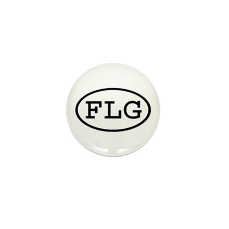 FLG Oval Mini Button (100 pack)