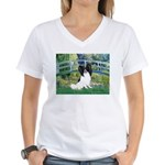 Bridge & Papillon Women's V-Neck T-Shirt