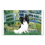 Bridge & Papillon Sticker (Rectangle)