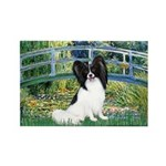 Bridge & Papillon Rectangle Magnet (10 pack)