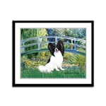 Bridge & Papillon Framed Panel Print