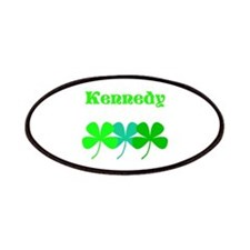 Personalized Irish Name 4 Leaf Clovers For Patches