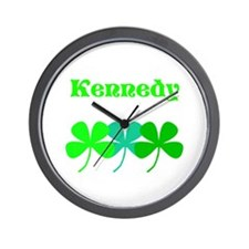 Personalized Irish Name 4 Leaf Clovers for Ted Wal