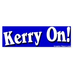 Kerry On Bumper Sticker