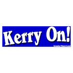 Kerry On Bumper Sticker